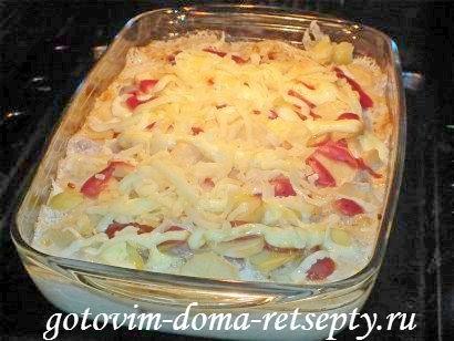 запеканка с мясом и картошкой в духовке, рецепт с фото 10
