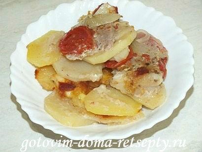 запеканка с мясом и картошкой в духовке, рецепт с фото 12