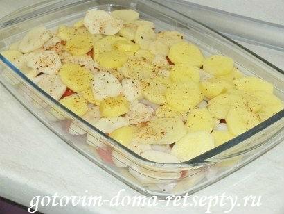 запеканка с мясом и картошкой в духовке, рецепт с фото 5