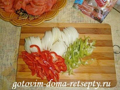 яичница с помидорами и луком 3