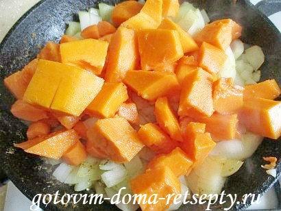 индейка с картошкой и тыквой, в духовке 14