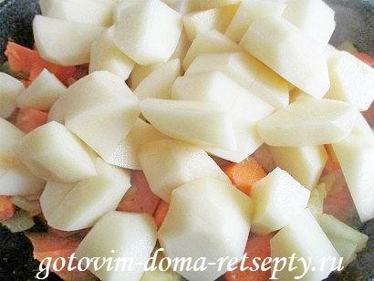 индейка с картошкой и тыквой, в духовке 15