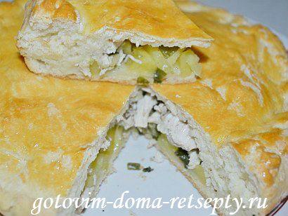 курник, пошаговый рецепт с фото 17