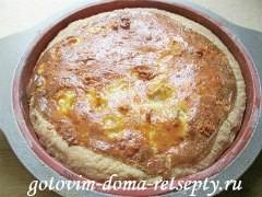 открытый пирог с мясом 18