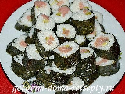 суши рецепт в домашних условиях пошаговый