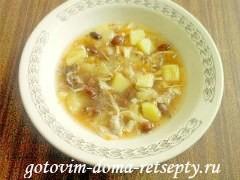 томатный суп с фасолью 8