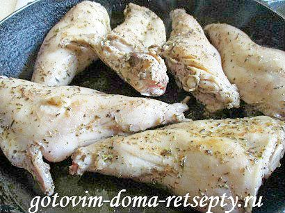 кролик в сметане в духовке рецепт 8