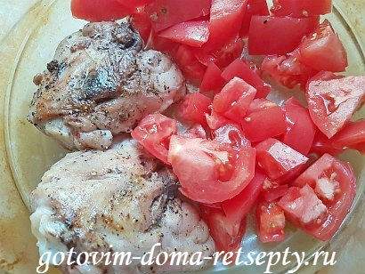 курица с красной фасолью рецепт в духовке 13
