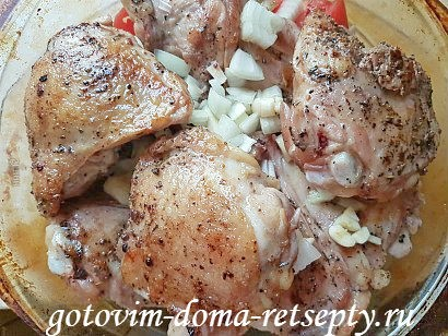 курица с красной фасолью рецепт в духовке 14