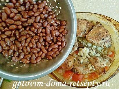курица с красной фасолью рецепт в духовке 15