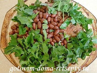 курица с красной фасолью рецепт в духовке 16