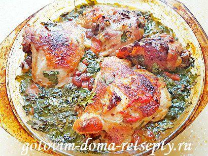 курица с красной фасолью рецепт в духовке 18