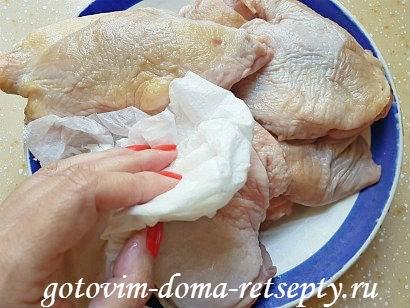 курица с красной фасолью рецепт в духовке 4