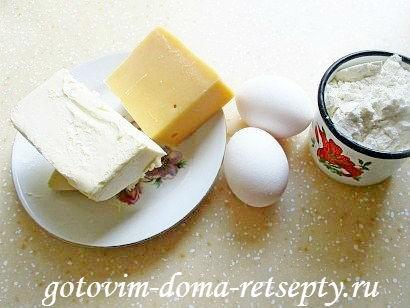 печенье рассыпчатое рецепт с сыром 1