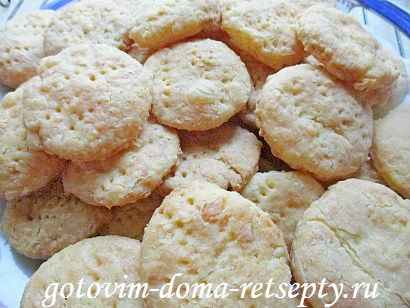 печенье рассыпчатое рецепт с сыром
