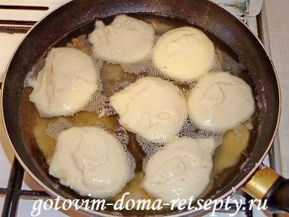 оладьи на сметане пышные рецепт с фото пошагово 6