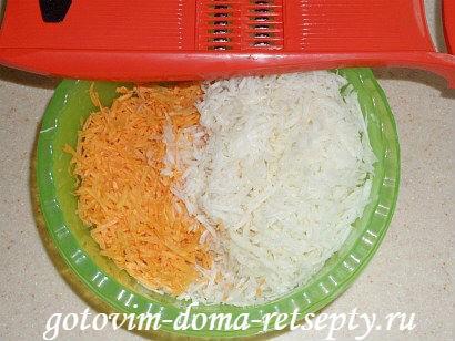 салат из кольраби рецепт с морковью 2