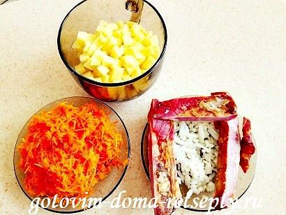 гороховый суп с копчеными ребрышками рецепт с фото 2