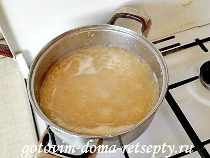 гороховый суп с копчеными ребрышками рецепт с фото 4