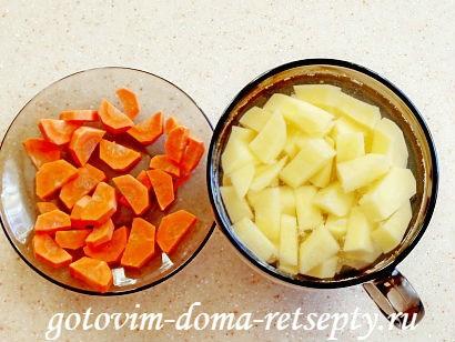 куриный суп с картошкой и морковью 3