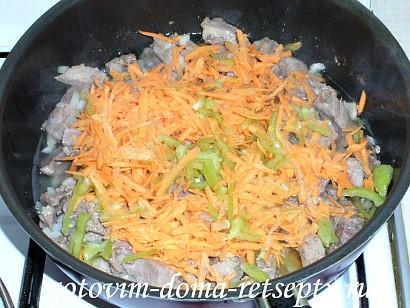 овощное рагу с мясом, картошкой и капустой 6