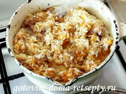 узбекский плов из говядины, рецепт с фото 10