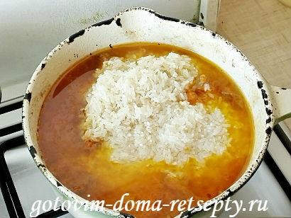 узбекский плов из говядины, рецепт с фото 7