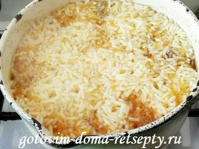 узбекский плов из говядины, рецепт с фото 9