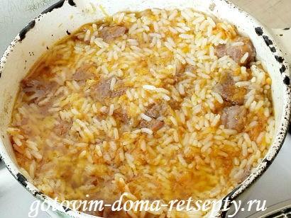 узбекский плов из говядины, рецепт с фото