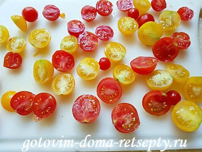салат с брынзой и помидорами рецепт с фото 5