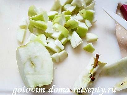 блинчики с яблоками и белым вином 8