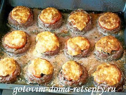 мясные гнезда рецепт с баклажанами и помидорами 14