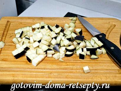 мясные гнезда рецепт с баклажанами и помидорами 2