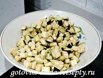 мясные гнезда рецепт с баклажанами и помидорами 3