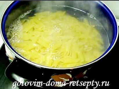 паста с курицей в сливочном соусе рецепт 1