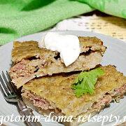 картофельная бабка с мясным фаршем 12