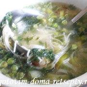 суп с горохом и вермишелью 8