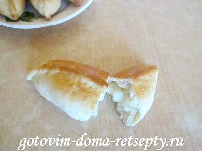 пирожки с картошкой рецепт в духовке с фото 16