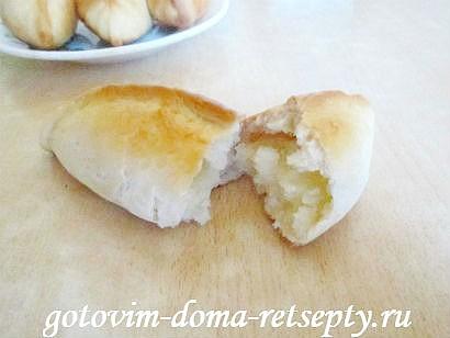 пирожки с картошкой рецепт в духовке с фото