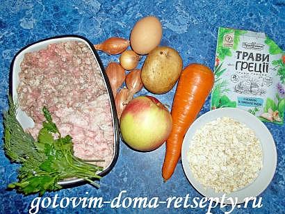 рулет мясной с яйцом в духовке рецепт 1